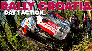 Rally Croatia: High Speed Highlights From Day 1 | WRC 2021