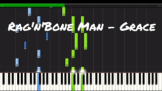 Rag'n'Bone Man - Grace Piano Tutorial
