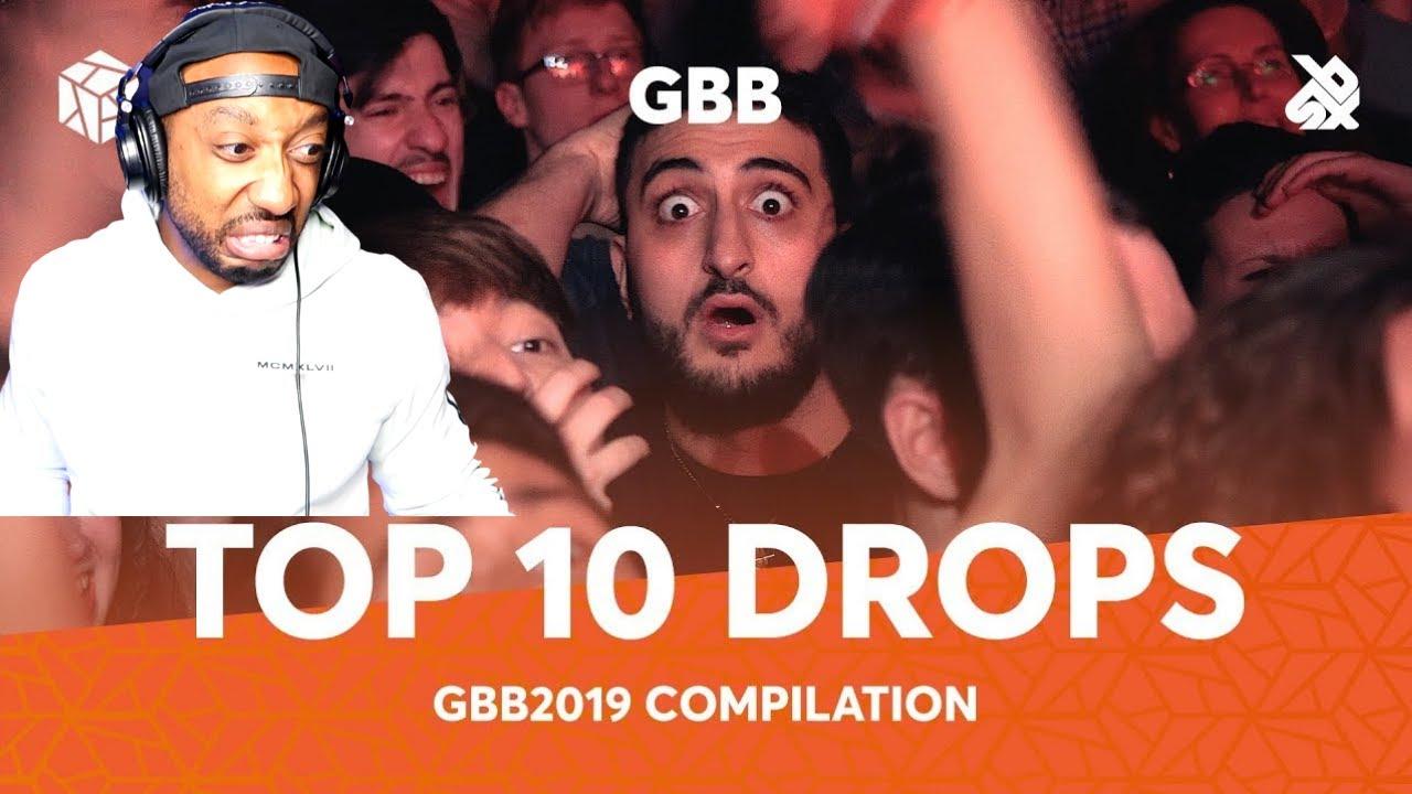 TOP 10 DROPS Grand Beatbox 2019 Battle Solo REACTION