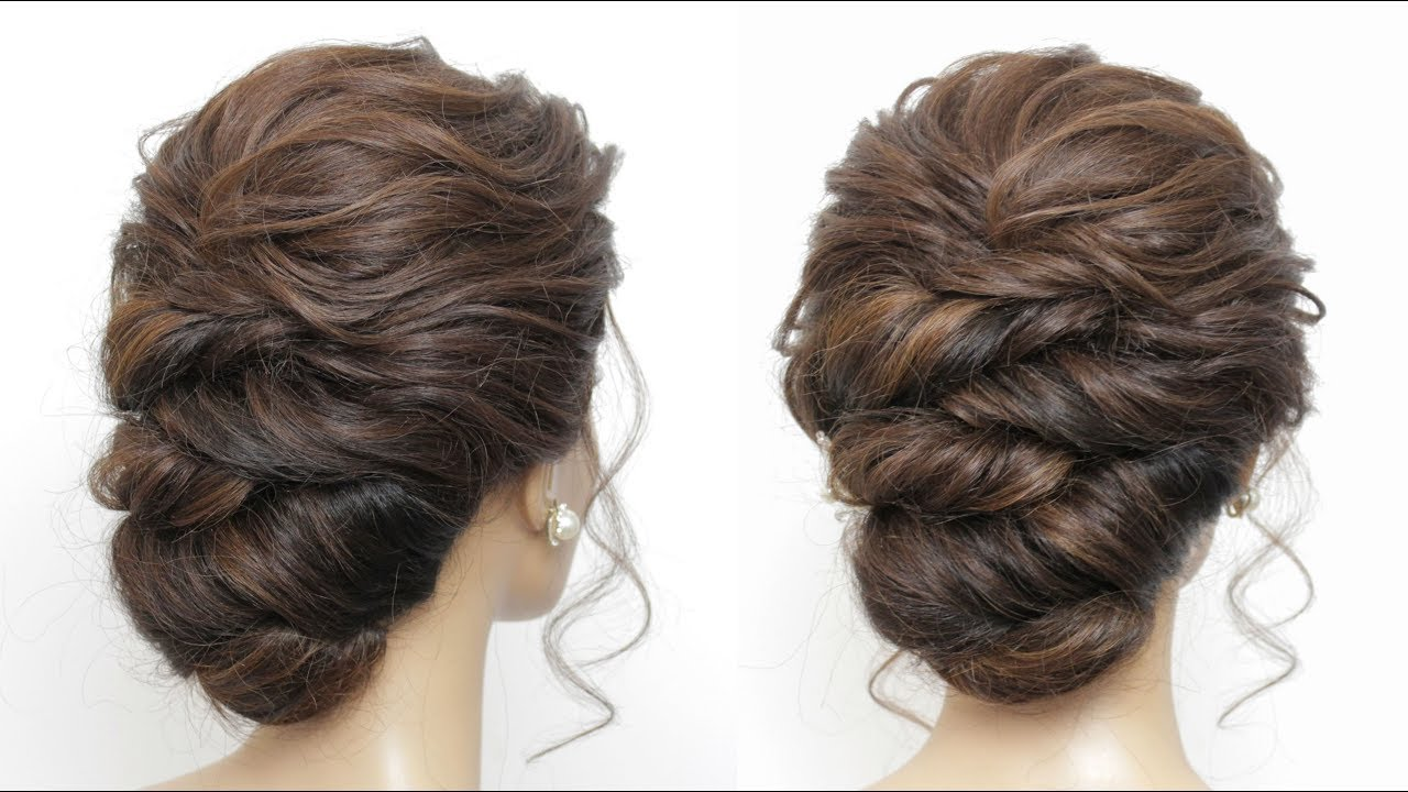 Wedding Updo Tutorial. Prom Hairstyles For Long Hair