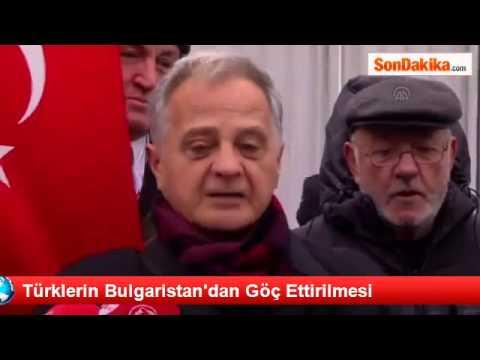 Bulgaristan'ın İstanbul'daki Konsolosluğu önünde Basın Açıklaması