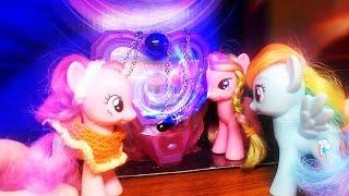 Сказка 'Принцесса Мишель' My Little Pony Белоснежка на новый лад Часть 2