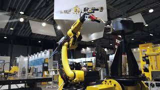Robotics Fair IFAM 2020 – Intelligent automation FANUC in Slovenija