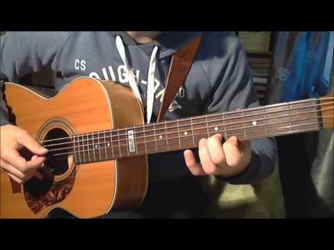 Dexter Blood Theme Acoustic Guitar Tutorial