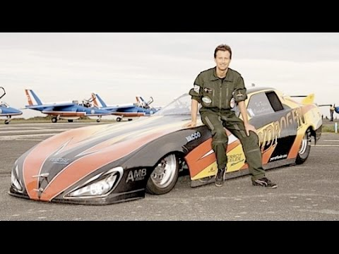 Reportage/Documentaire record de vitesse voiture dragster 530 km/h Fr