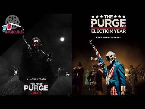The First Purge And The Purge: Election Year - The Unwatchables