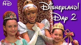 DISNEYLAND VLOG Part 2 - Cinderella, Disney Princess makeovers & Star Wars Jedi training