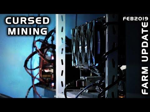 Cursed Mining Farm #11: GPU ASIC USB CPU Update - February 2019