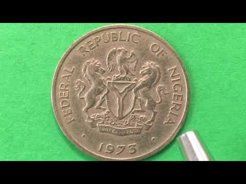 Monday Morning African Coin Video#2 Nigeria 10 Kobo Coin