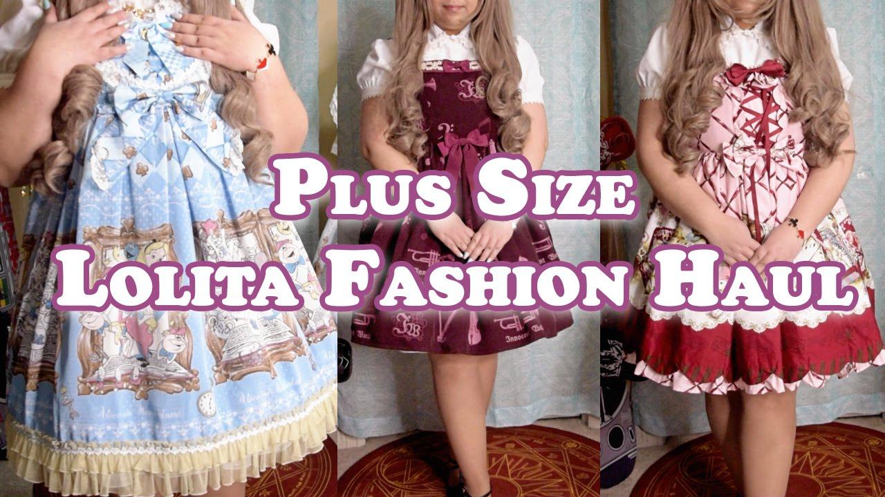 Plus Size Lolita Fashion Haul&Try-On: Takoyaki Co., Closet Child, Lace  Market