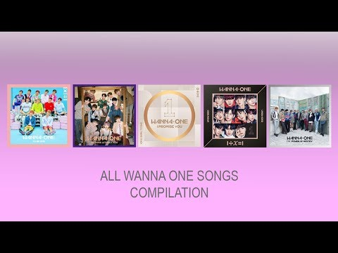 All WANNA ONE Song Compilation