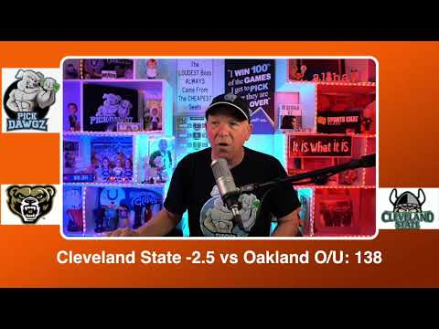 Cleveland State vs Oakland  3/9/21 Free College Basketball Pick and Prediction CBB Betting Tips