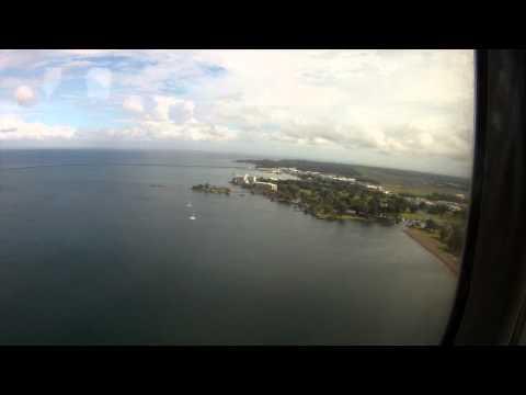Final approach into Hilo,Hawaii
