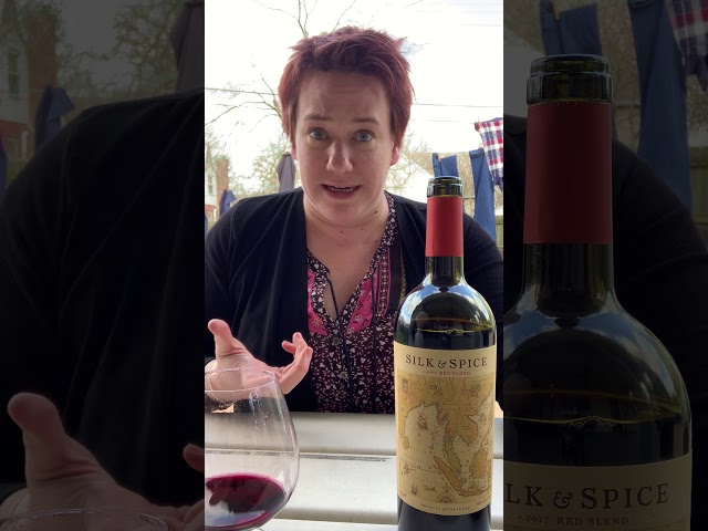 Silk & Spice Red Blend Wine Review