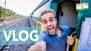 SURFING AN INDIAN TRAIN