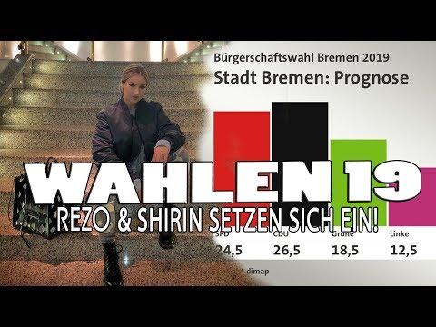 REZO & SHIRIN DAVID animieren Junge WÄHLER ❤ Das Wahlergbniss 2019 ist da !