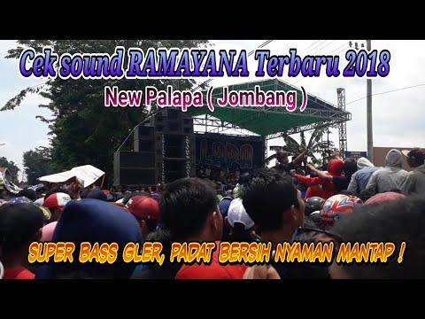 CEK SOUND AMPUH RAMAYANA 2018 MANTAP  | NEW PALAPA JOMBANG