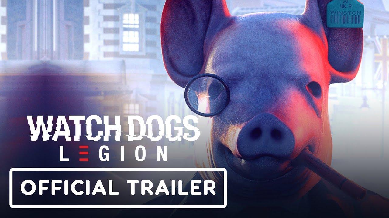 Watch Dogs Legion Gameplay enthüllen Trailer - E3 2019 + video