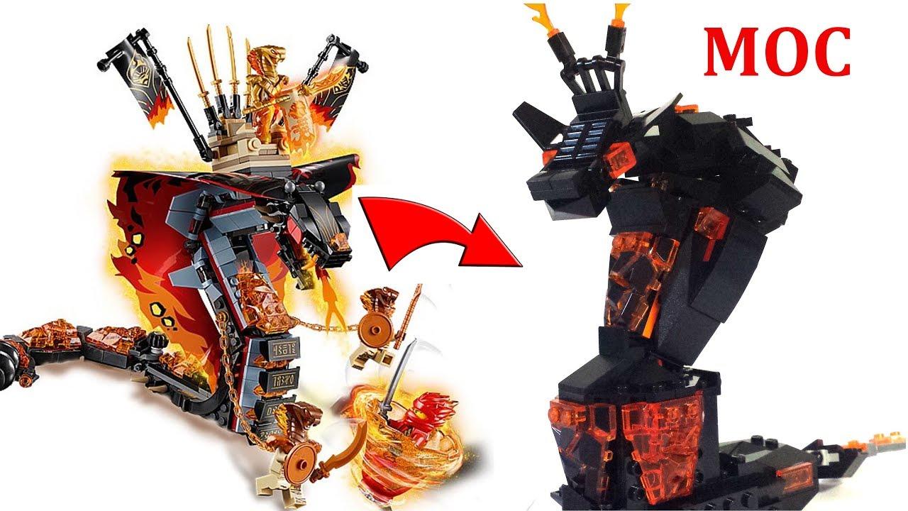 LEGO Ninjago Fire Fang MOC!!! Summer 2019 70674 built-from ...