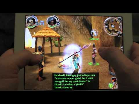 Order & Chaos Online Episode 6 for iPhone/iPod/iPad/Droid  - Glitch and Secret Area