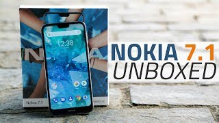Nokia 7.1 Unboxing and First Look | Price, Camera, Specs, and More