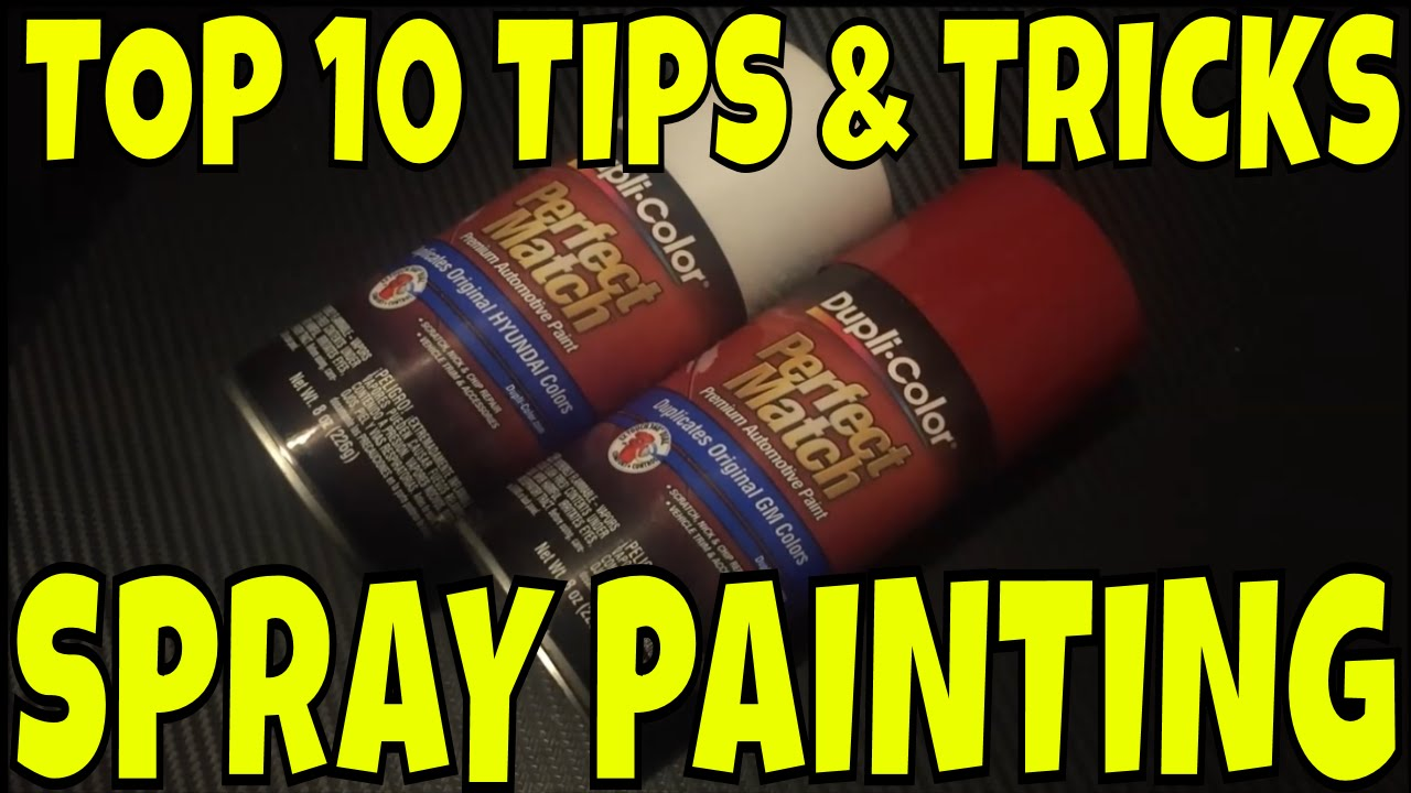 TOP 10 Tips And Tricks For Spray Painting. How To Spray ...