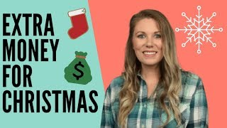 10 Ways To Make Extra Money For The Holidays - Side Hustle Ideas