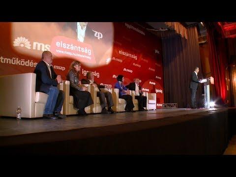 Az MSZP programbemutató nagygyűlése - 2017.12.09.
