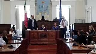 """Erasmus Plus, a Palazzo di Città delegazione scolastica straniera guidata dalla """"Verdi-Cafaro"""""""
