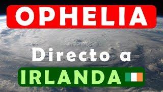 Trayectoria Huracan Ophelia