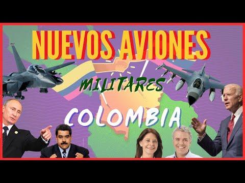 Polémica! Colombia Compraría NUEVOS Aviones De COMBATE De ÚLTIMA Tecnología Por Seguridad Nacional!