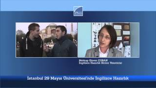 İstanbul 29 Mayıs Üniversitesi İngilizce Hazırlık Birimi