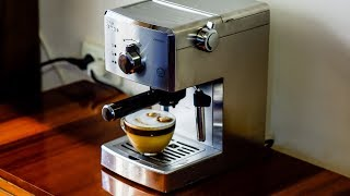 Philips Saeco Poemia HD8427 - espresso + latte + expert (rewiev / demo)