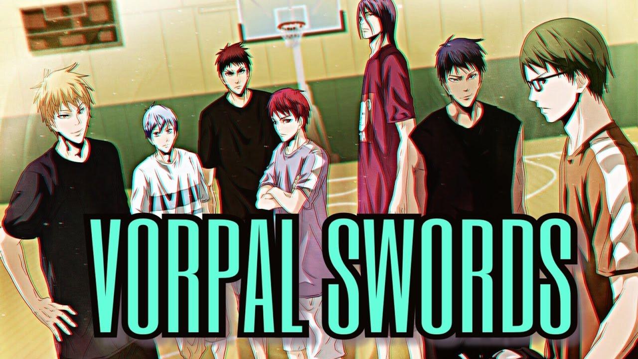 kuroko no basket vorpal swords youtube