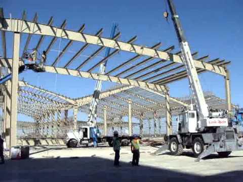 Montaje estructura metalica parte 2 ternium vp youtube - Estructura metalicas para casas ...