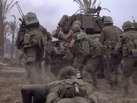 Brace yourself for this intense scene. [Full Metal Jacket]