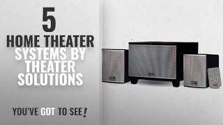 Top 5 Theater Solutions Home Theater Systems [2018]: Theater Solutions TS220 Powered Bluetooth 2.1