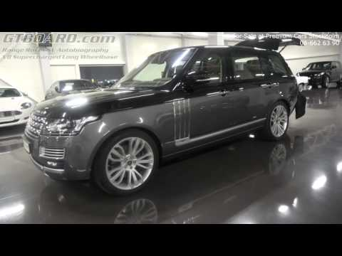[4k] For Sale Range Rover SV Autobiography V8 Supercharged Long Wheelbase at Premium Cars Stockholm