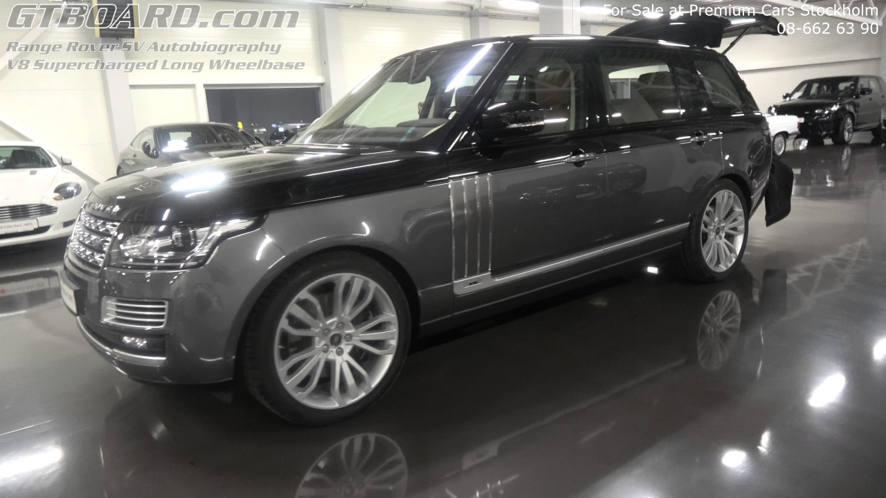 Range Rover Long Wheelbase >> [4k] For Sale Range Rover SV Autobiography V8 Supercharged Long Wheelbase at Premium Cars ...