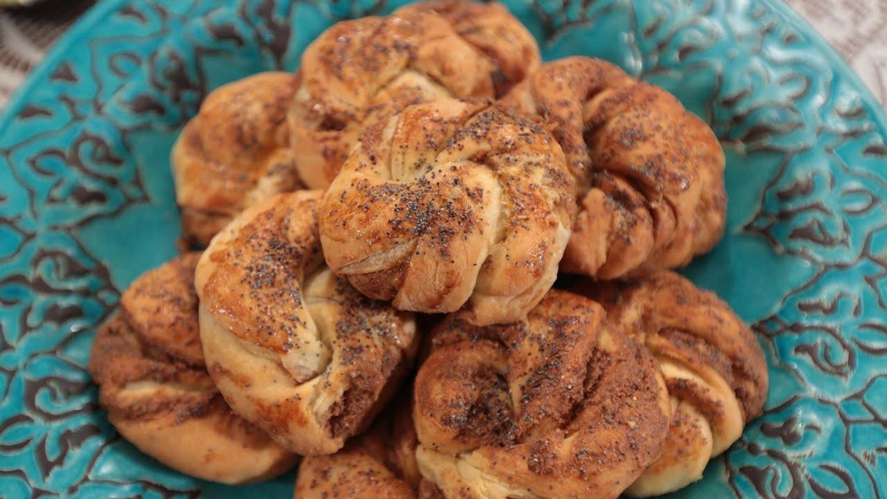 Haşhaşlı Açma Çörek Tarifi Videosu