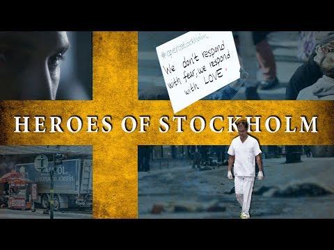 Heroes of Stockholm Attack / 7 April 2017