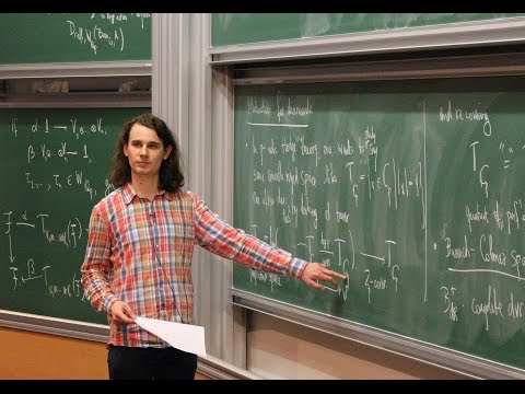 Peter Scholze - 1/6 On the local Langlands conjectures for reductive groups over p-adic fields
