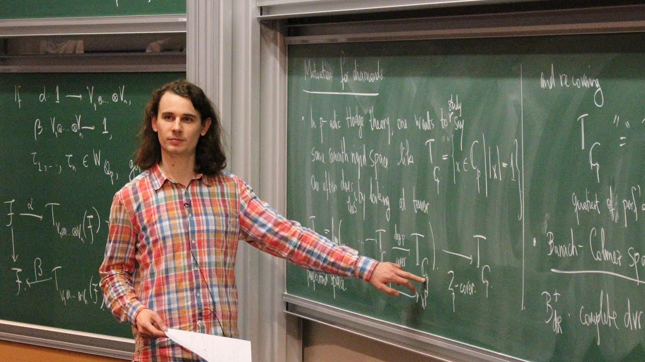 Image result for peter scholze