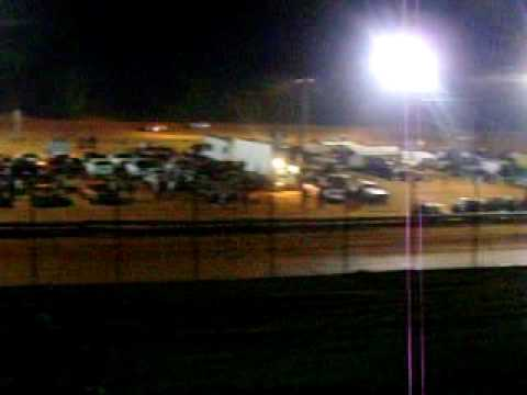 Central Alabama Motor Speedway 5-8-2010 Super Pony's #4 Benny Pricket winner
