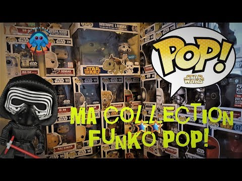 Ma collection Funko Pop Star Wars
