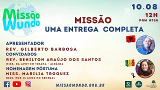 MISSAO MUNDO #W32_21 - 136