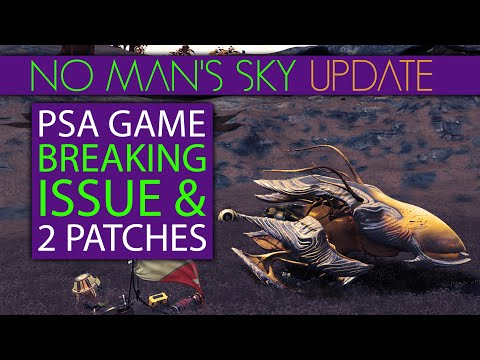 No Man's Sky Living Ship PSA How To Avoid This Game Breaking Issue & 2 New Patches   Starbirth Fix