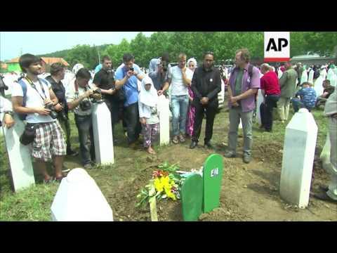 Baby among 409 buried on 18th anniversary of Srebrenica massacre