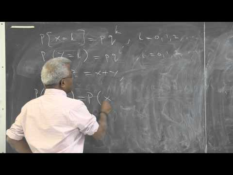 """Pillai: """"Function of Two Random Variables: max(X, Y), min(X,Y)"""". (Part 5 of 6)"""