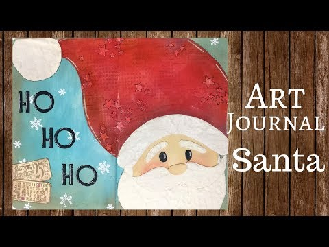 Art Journal: Santa